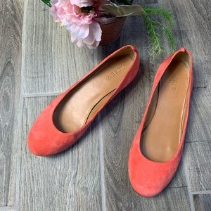 J. Crew Choral Suede Flats
